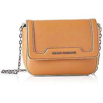 أرماني تبادل حقيبة كروسبودي الملونة - أكياس الكتف المرأة البني (كونياك) 15x6.5x20 سم (B x H T)