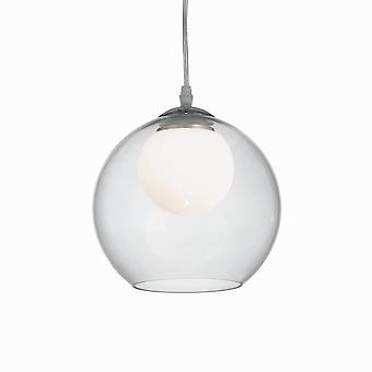 Ideal Lux Nemo claro 200 vidrio globo colgante