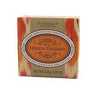 Savon naturellement européen de neroli et de mandarine 150g