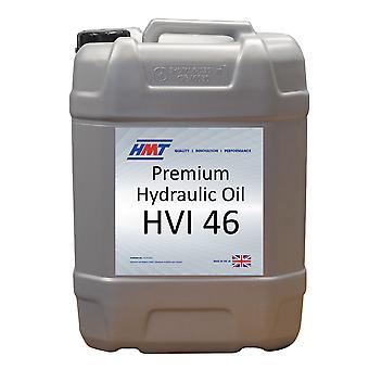 HMT HMTH017 Premium Hydraulic Oil HVI 46 - 20 Litre - Iso VG 46 - High Viscosity