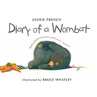 Diary of a Wombat by Jackie French - Bruce Whatley - 9780547076690 Bo