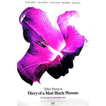Tagebuch einer verrückten schwarzen Frau (doppelseitige Vorschuss) Original Kino Poster