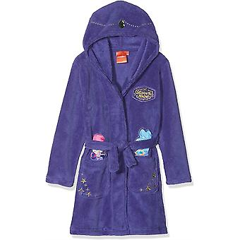 Meisjes RH2224 Shimmer en Shine koraal fleece Hooded badjas