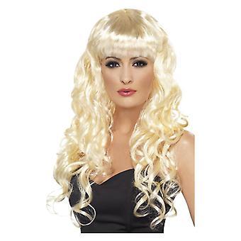 Mujer sirena peluca rubia disfraces accesorios