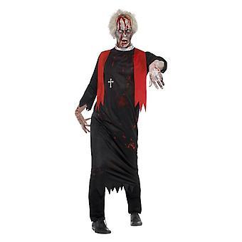 Miesten zombie ylipappi Halloween Fancy mekko puku