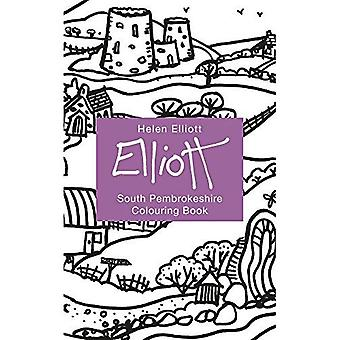Helen Elliott Concertina Colouring Book: South Pembrokeshire