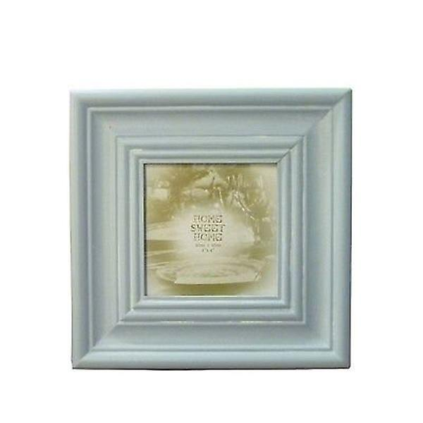 Lesser & Pavey Home Sweet Home Photo Frame 4x4 (10x 10cm) - Azure