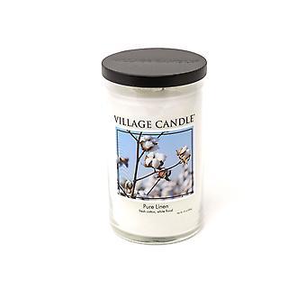 Dorf Kerze Dekor große 24oz duftende amerikanische Jar Doppel Wick 110 Stunden brennen