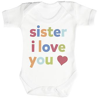 Zuster, I Love You Baby Romper / Babygrow