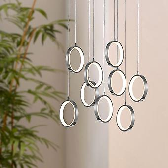 Soleil 9 Mini hanger verlichting nikkel