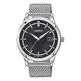 Dugena Watch Analog quartz men with stainless steel strap 7090211