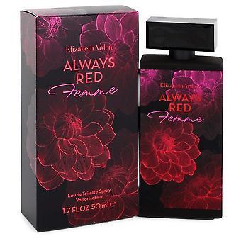 Zawsze czerwony Femme Eau De Toilette Spray Elizabeth Arden 548433 50 ml