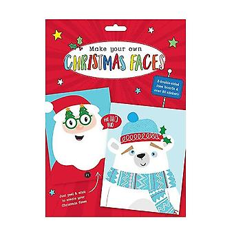Make your own Christmas Funny Faces