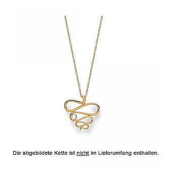 Bastian Inverun 925/- Gümüş kolye altın kaplama cilalı ıslah ı 23290