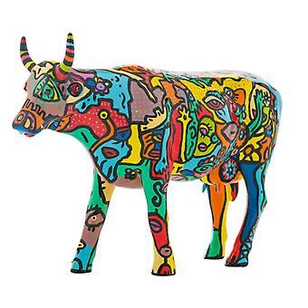 Cow Parade Moo York celebración (grande)
