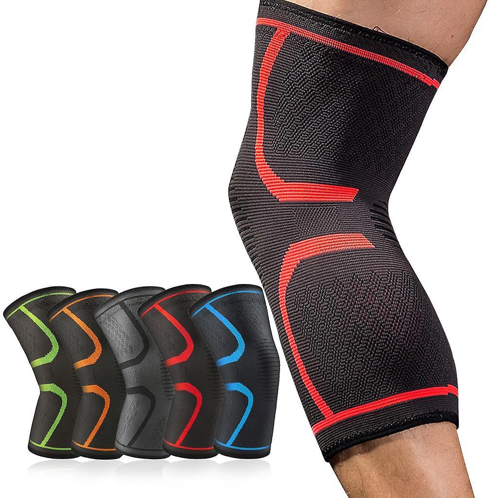 Elastic Nylon Sports Kneepad Fitness Gear Patella Brace Running Basketball Volleyball Support