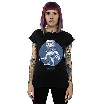 Star Wars Women's The Rise Of Skywalker Babu Frik Mono T-Shirt