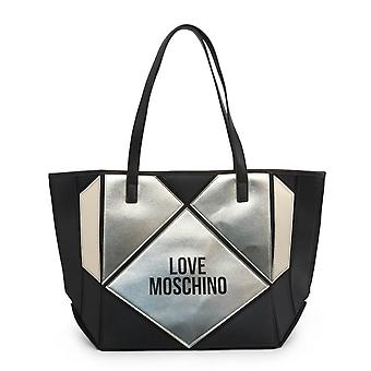 الحب موسكينو الأصلي المرأة الخريف / الشتاء حقيبة التسوق - اللون الأسود 37184