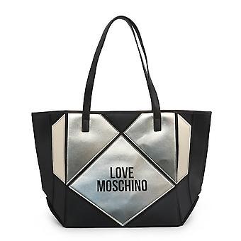 Love Moschino Original Women Fall/Winter Shopping Bag - Black Color 37184