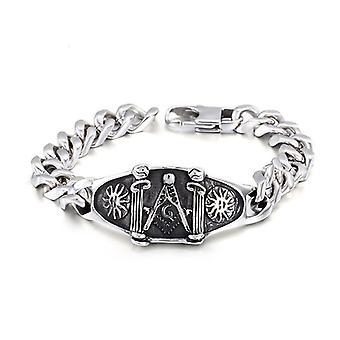 Columns lodge masonic bracelet