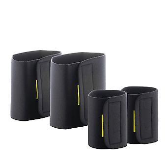 4x Saunagurt für Arm und Oberschenkel