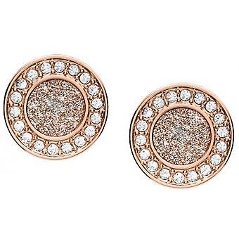Fossil earrings JF03263791 - CLASSICS Dor Rose Steel