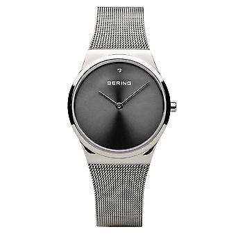 Bering reloj de mujer reloj de pulsera clásico - 12130-009 banda de malla