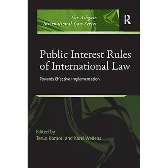 小森・輝夫による効果的な実施に向けての国際法の公益規則