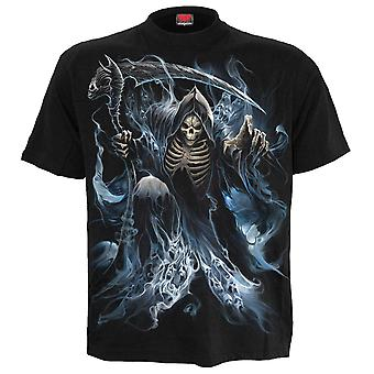 Spiral Direct Gothic GHOST REAPER - T-Shirt Black|Reaper|Souls|Skulls|Death