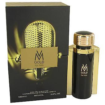 Victor manuelle gold eau de toilette spray by victor manuelle 534126 100 ml