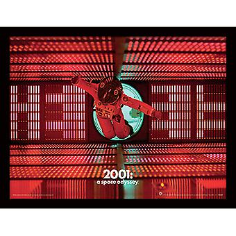 2001 Space Odyssey Logic Memory Center kehystetty levy 30 * 40cm