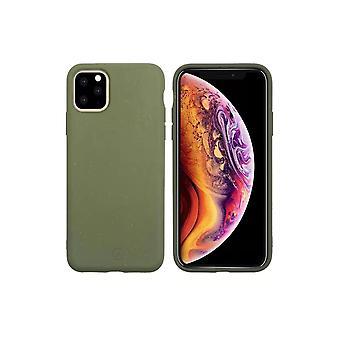 Muvit Bambootek ECOCase Hoesje iPhone 11 Pro - Moesgroen