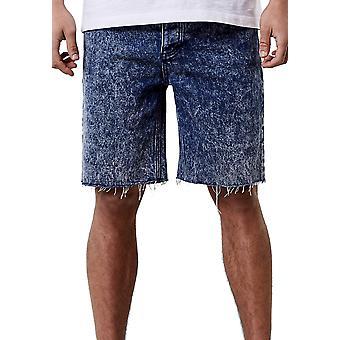 CAYLER & SONS Men's Denim Shorts ALLDD Raw Edge