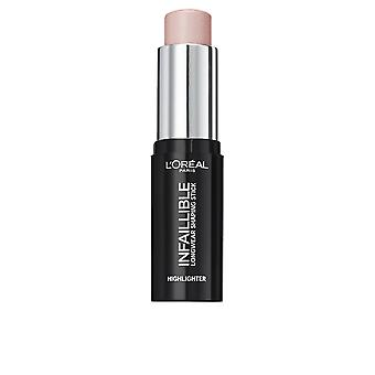 L'Oreal Make Up Infaillible Highlighter Shaping Stick #503-slay In Rose 9 Gr für Frauen