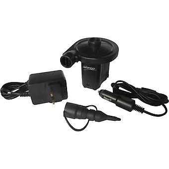 Vango AC/DC Electric Pump - Small - Black