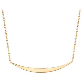 KJ Beckett curvado Bar colar ajustável - Rose Gold