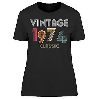 Classic Vintage Sedan 1974 Women's T-shirt