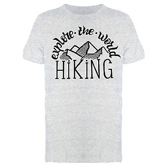 Explore The World Hiking Tee Men's -Image by Shutterstock