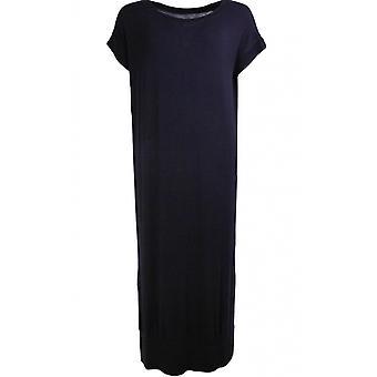 Een ansichtkaart van Brighton Fabbie Black Oversized Dress