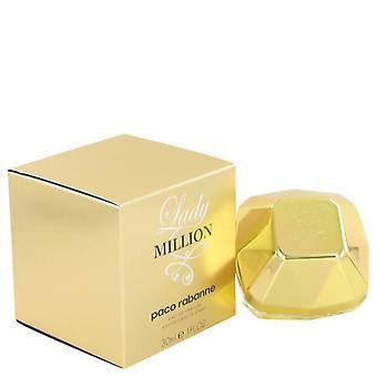 Lady Million Eau De Parfum Spray By Paco Rabanne 1 oz Eau De Parfum Spray