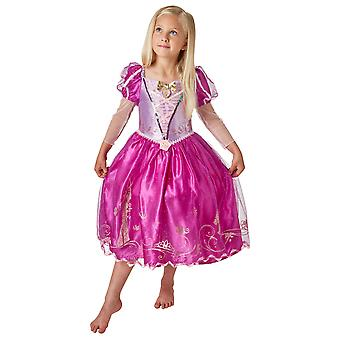 Girls Rapunzel Costume - Disney