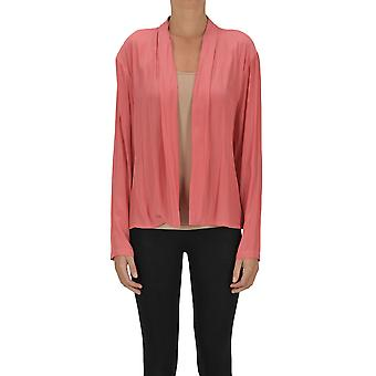 Dries Van Noten Ezgl093162 Women's Pink Polyester Cardigan