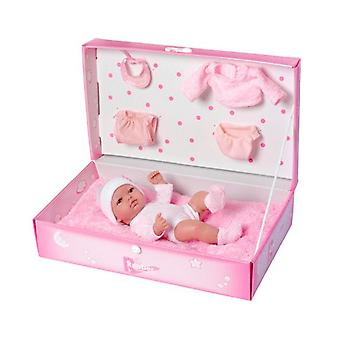 Baby Doll with Accessories Rauber (25 cm) Pink