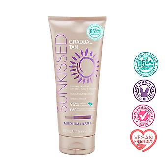 Sunkissed Gradual Tan-Medium/Dark