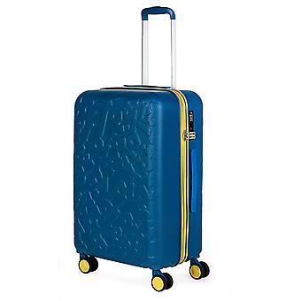 Lois Zion Trolley M, 4 Rollen, 43 cm, 59  L, Blau