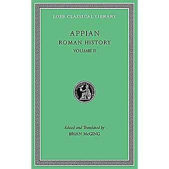 Roman History - Volume II by Appian - 9780674996489 Kirja