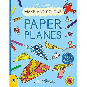 Make & Colour Paper Planes - 8 Planes to Cut out and Colour by Cla