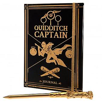 Harry Potter Notebook & Pen Set Quidditch
