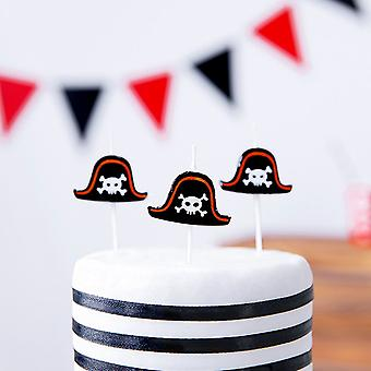 Pirate Birthday Party Candles - Cake Decoration x 5