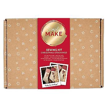 Hanging Christmas Media Coser Kit de Artesanía para Adultos - Hace 2